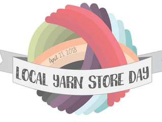 Local Yarn Store Day (who knew that this was a thing?!)