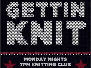 Knit Night at The Lone Star Saloon