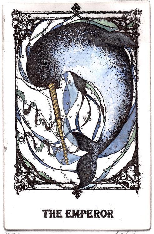 The Emperor Tarot Card Print