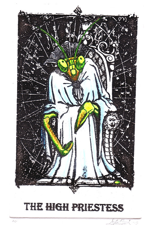 The High Priestess Tarot Card Print