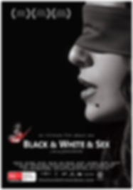 Black & White & Sex Poster Flyer