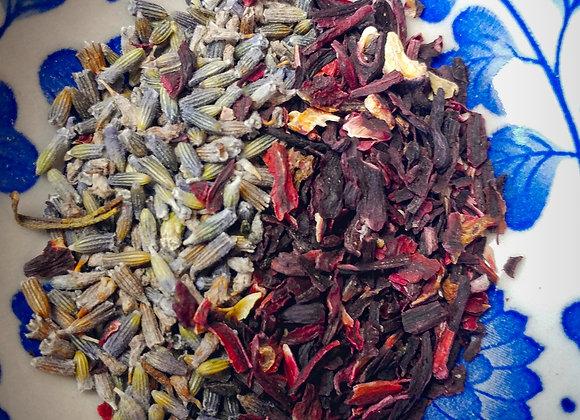 Échantillon- hibiscus-lavande