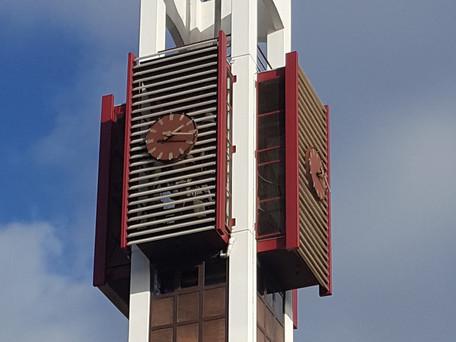Close up toren Almere Stad