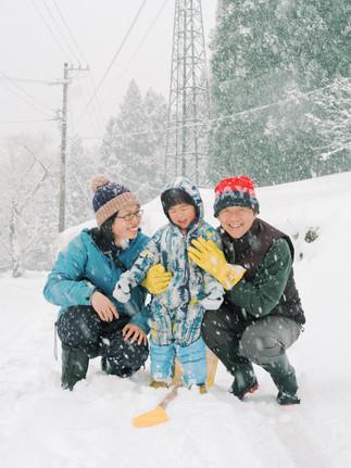 岐阜-郡上-ナチュラル-家族写真-出張撮影