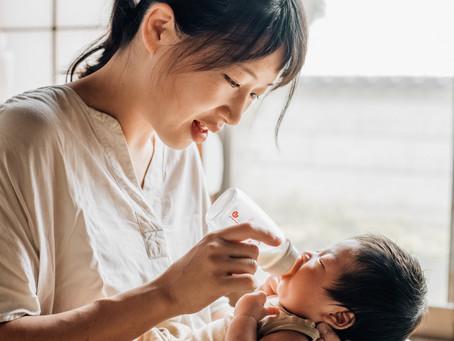 新生児の沐浴後の授乳時間に思うこと