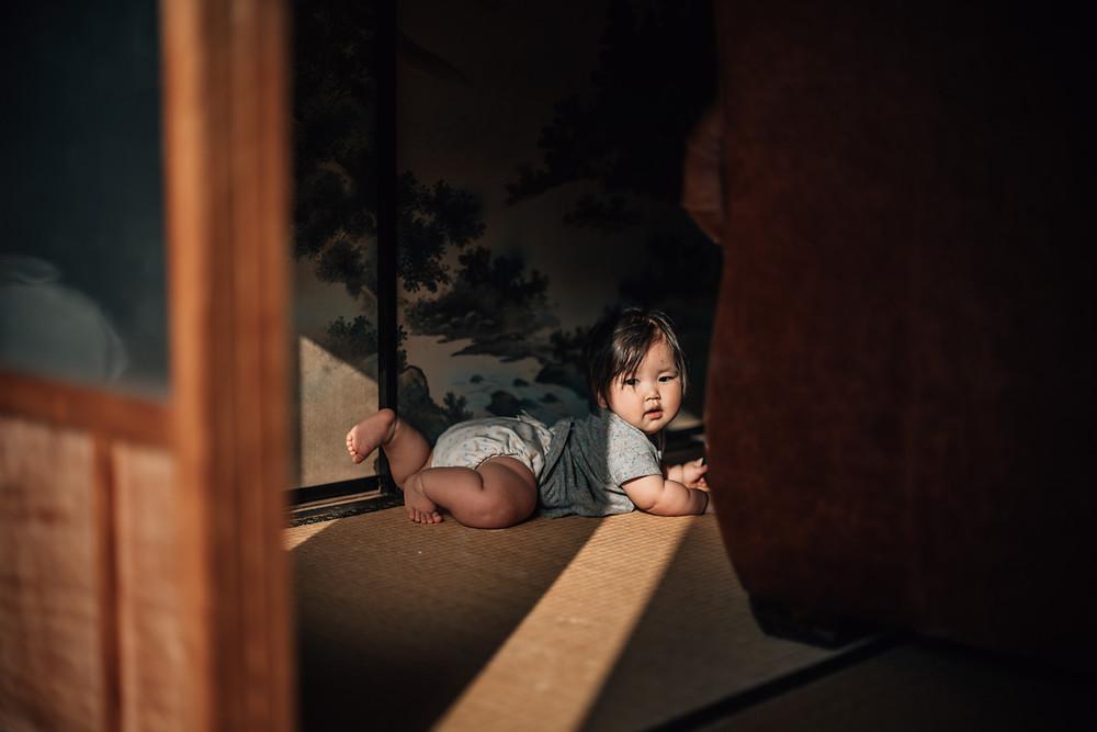 赤ちゃんの手 ニューボーンフォト 岐阜