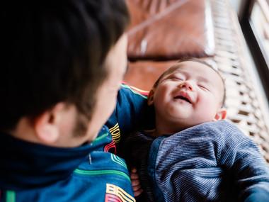 岐阜-郡上-カメラマン-パパと息子-新生児フォト-ライフスタイル撮影