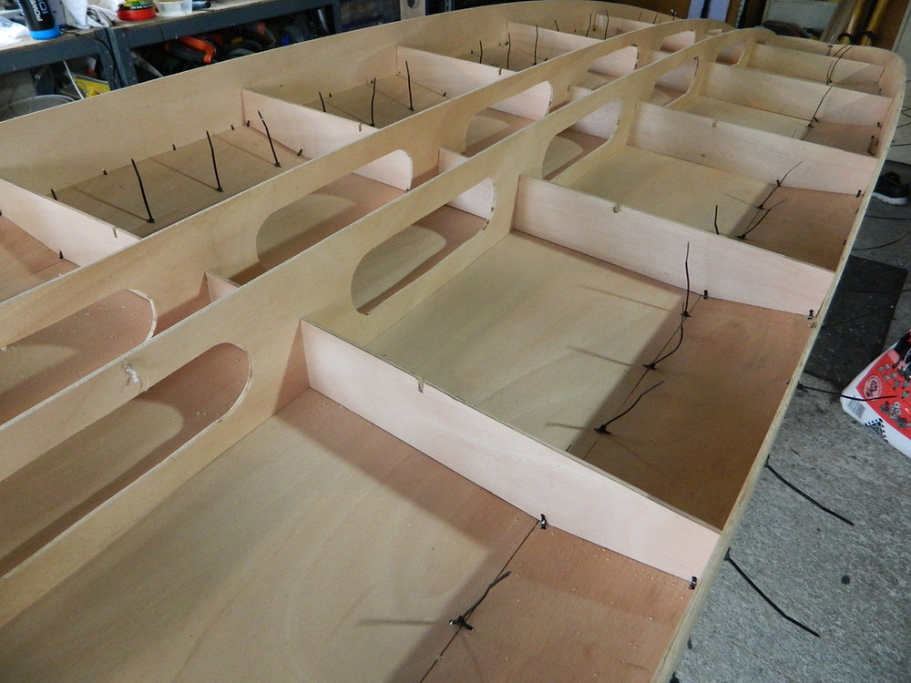 Paddleboard structure