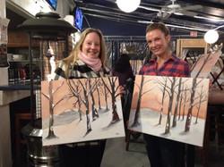 BIRCH TREES Wine & Paint Night