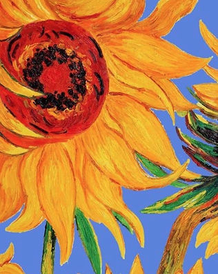 Van gogh sunflower this guys pizza october 24th 7 930pm 80 greenville ave johnston ri cost 25 00