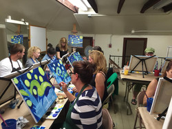 Wine & Paint Night at South County A
