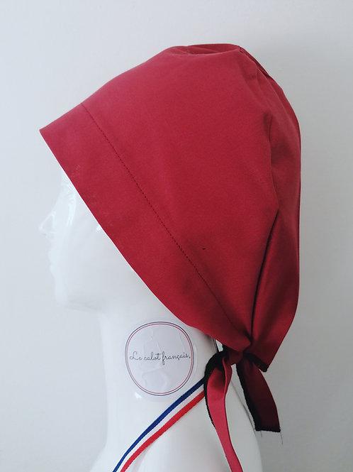 Calot Uni Bordeau | Le Calot Français | Fabriqué en France