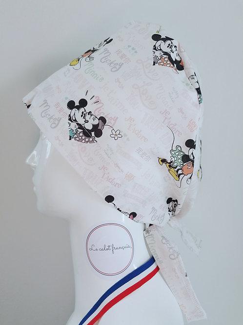 Calot Minnie et Mickey