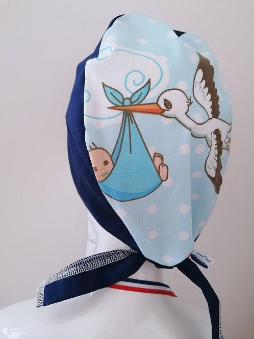 Calot-cigogne bleu