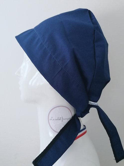 Calot Uni Bleu Marine | Le Calot Français | Fabriqué en France