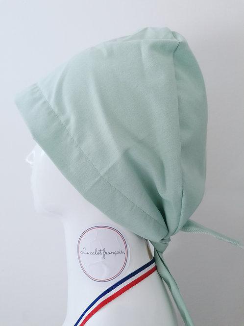 Calot Vert Pastel | Le Calot Français |  Fabriqué En France |