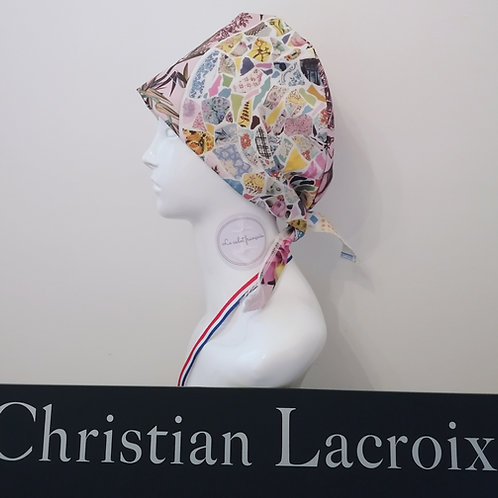 Calot Tissu CHRISTIAN LACROIX - A4