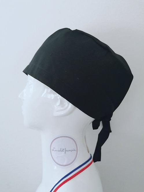 Calot Noir | Le calot français | Fabriqué en France