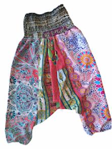 Fast Gorilla Vintage Harem Pants - Pink