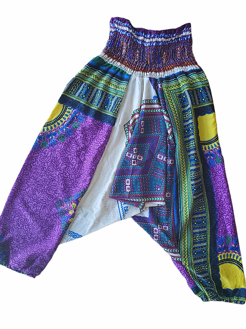 Fast Gorilla Vintage Harem Pants - Purple