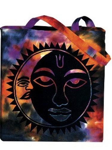 Fast Gorilla   Tie Dye Celestial Bag