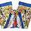 Thumbnail: Original Wrap Pants - Blue, Yellow, Green, Red and Peacocks
