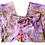 Thumbnail: Original Wrap Pants - Purple, Orange, Green, Tie dye and Peacocks