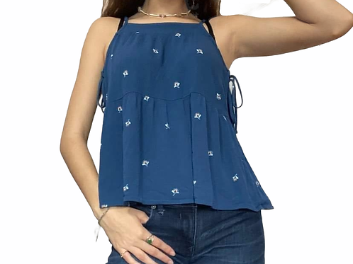 Universal Thread (tag removed) Peasant sleeveless blouse