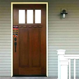 flyer on door.png