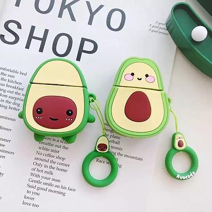 Air Pods Cover - Avocado