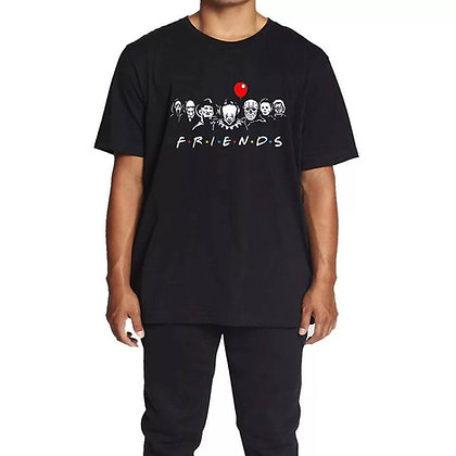 Horror FRIENDS Graphic Tee
