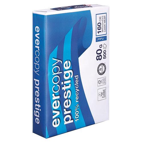 Clairefontaine Evercopy Prestige - Papier recyclé A4 blanc 80g (par 5)