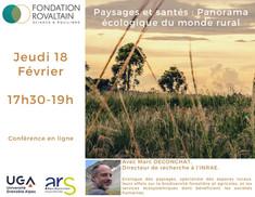 Paysages et santés : Panorama écologique du monde rural