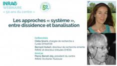 """Webinaire """"Les approches système, entre dissidence et banalisation"""""""
