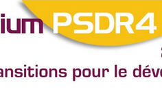 Annie Ouin et James Desaegher présentent des résultats du projet Sebioref au colloque final PSDR 4,