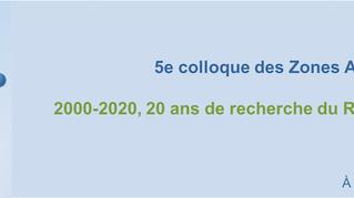 5ème colloque du réseau des Zones Ateliers CNRS