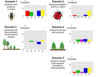 First use of participatory Bayesian modeling to study habitat management at multiple scales for biol
