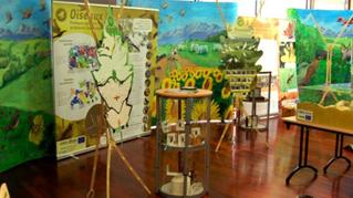"""Notre exposition """"Des territoires et des hommes: biodiversité, agriculture,  forêt dans les paysage"""""""