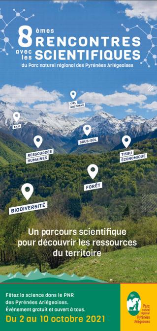 Dynafor contribue aux 8èmes rencontres avec les scientifiques du PNR des Pyrénées Ariégeoises