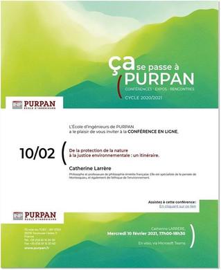 """Conférence en ligne - """"De la protection de la nature à la justice environnementale : un itinéraire"""""""