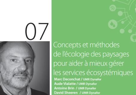 Concepts et méthodes de l'écologie des paysages pour aider à mieux gérer les services écosystémiques
