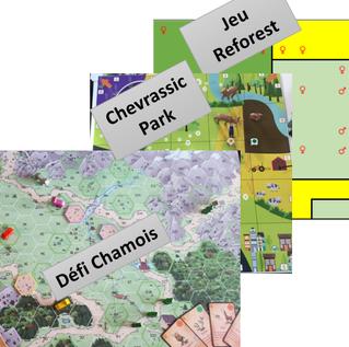 Utilisation des « serious games » pour la compréhension des interactions ongulés – paysages dans des