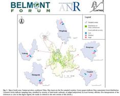 Un nouvel article paru qui présente les résultats du projet Climtree (ANR Belmont)