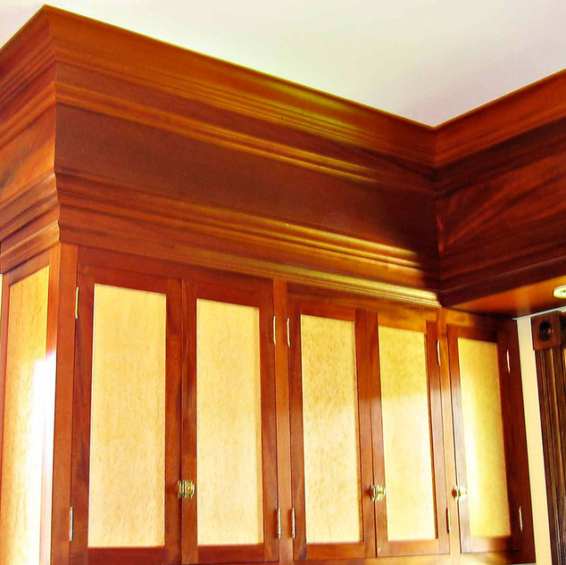 Mahogany and Birds Eye Maple Kitchen