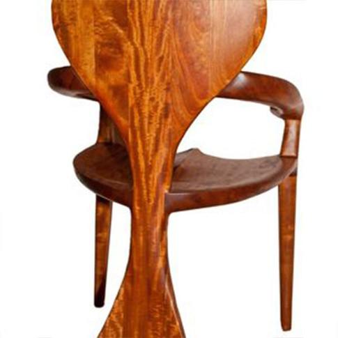 Custom Mahogany Chair
