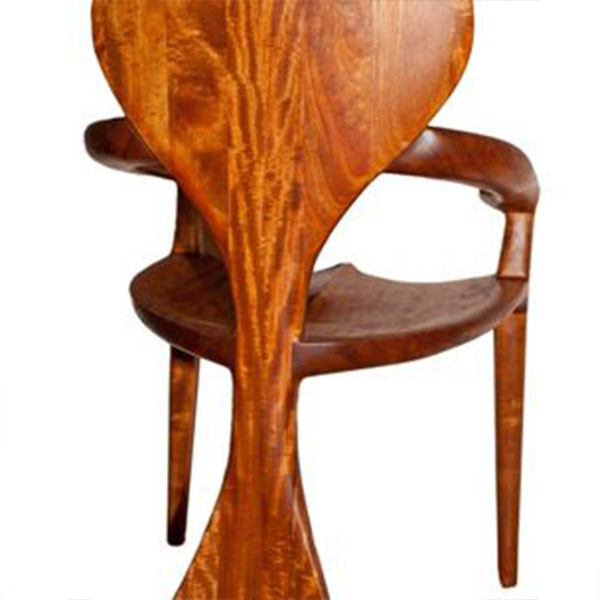 Custom Mahogany Chair