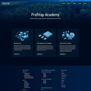 Profitap Academy - Dark Mode