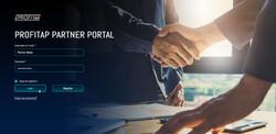 Partner-Portal-Login-Page