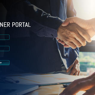 Partner Portal - Login Page