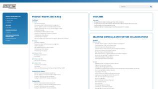 Knowledge base - Homepage